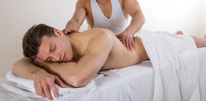 Old gay men massage